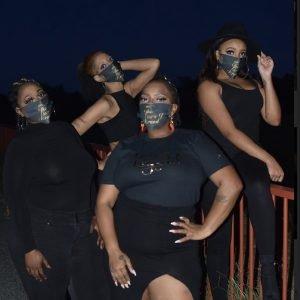 The Tiara J Brand Signature Face Mask!