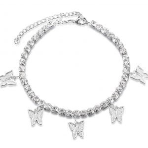 The Butterfly Effect ankle bracelet