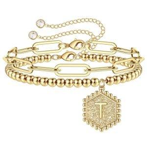 TTJB Initial bracelet