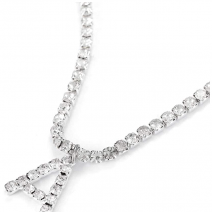 The icing on top Initial necklace