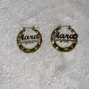 TTJB Customized Earrings (Silver plated/Gold)