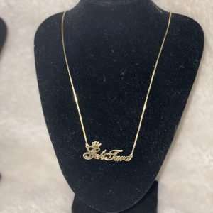 TTJB Customized Name Necklace (Medium Length)