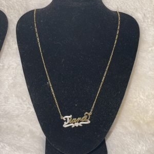 TTJB Customized Name Necklace (Long Length)