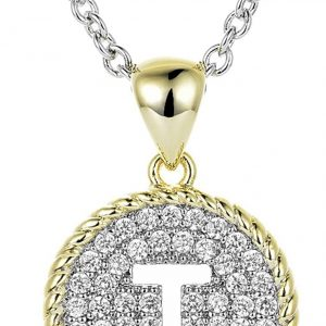 Bling me Baby Initial Necklace