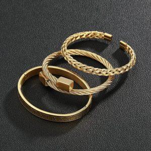 His & Hers Matching Bracelet Set